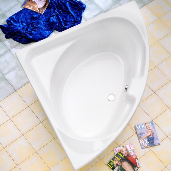 Ottofond Laguna corner bath with bath support