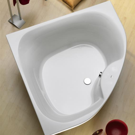 Ottofond Lima corner bath side length 150 cm, 310 litres, without support