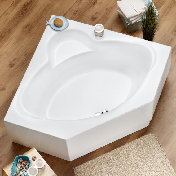 Ottofond Miami corner bath without support, without panel