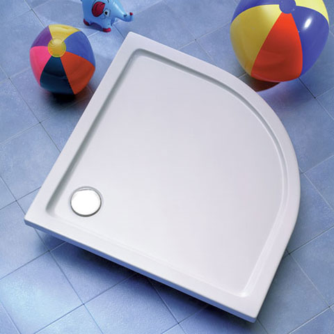Ottofond Denia quadrant shower tray with support