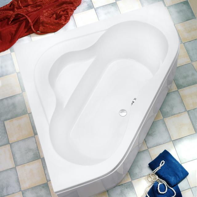 Ottofond Lucia corner bath with panelling