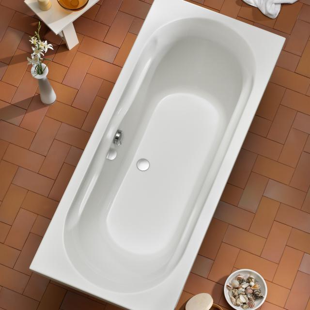 Ottofond Madera rectangular bath, built-in with leg frame