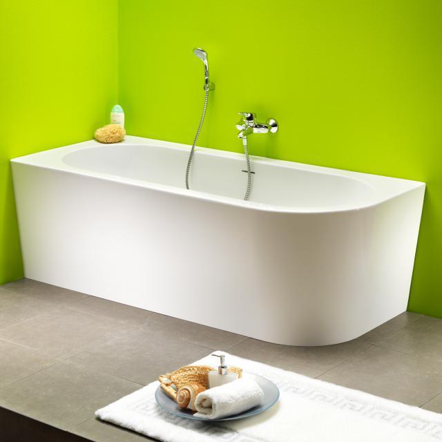 Ottofond Modena Corner corner bath with panelling