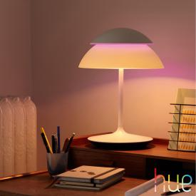 Philips Hue Beyond LED RGBW table lamp with dimmer