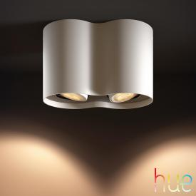 Philips Hue Pillar ceiling spotlight 2 heads with dimmer