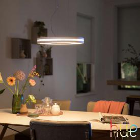 Philips Hue White Ambiance Being LED pendant light with dimmer