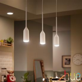 Philips Hue White Ambiance Devote LED pendant light with dimmer