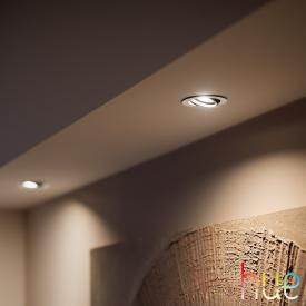 Philips Hue White and Color Ambiance Centura recessed spotlight, round