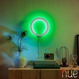 Philips Hue White and color ambiance Sana LED wall light with dimmer