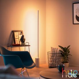 Philips Hue White and color ambiance Signe LED floor lamp with dimmer