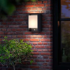 Philips myGarden Arbour LED wall light with motion sensor