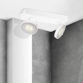 Philips myLiving Clockwork LED wall/ceiling light/spot 2 heads
