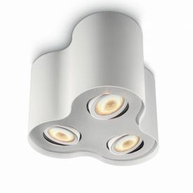 Philips myLiving Pillar ceiling light / three spotlights