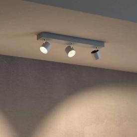 Philips myLiving Star LED Warmglow ceiling spotlight, triple