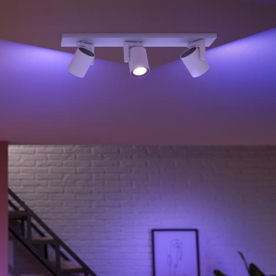 Philips Hue White And Color Ambiance Argenta Spotlight Ceiling Light 3 Heads 5062331p7 Reuter