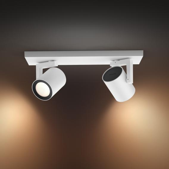 Philips Hue White And Color Ambiance Argenta Spotlight Ceiling Light Double 5062231p7 Reuter