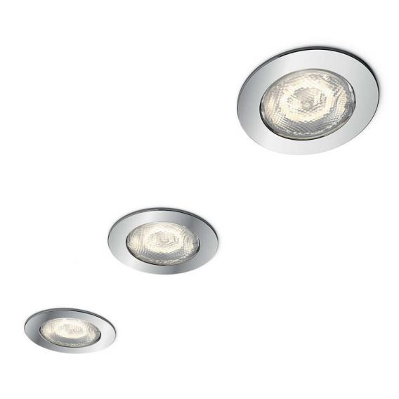 Philips myBathroom Dreaminess 3er Set LED recessed spotlight round