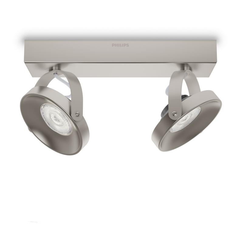 Philips Myliving Spur Led Wall Ceiling Light Spot 2 Heads 533121716 Reuter Com
