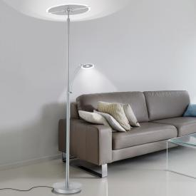 Paul Neuhaus Artur LED floor lamp with dimmer and CCT, round