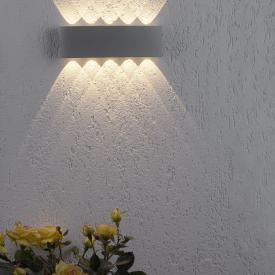 Paul Neuhaus Carlo LED wall light, 10 heads