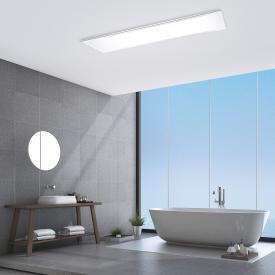 Paul Neuhaus Flag LED ceiling light, rectangular IP44