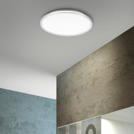 Paul Neuhaus Flag LED ceiling light, round IP44