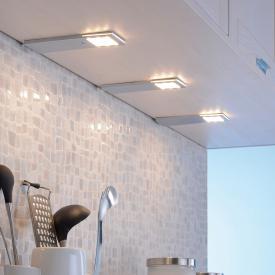 Paul Neuhaus Helena LED under cabinet light with sensor switch, set of 3