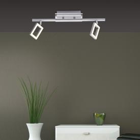 Paul Neuhaus Inigo LED ceiling light/spot 2 heads