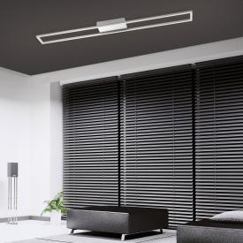 Paul Neuhaus Inigo LED ceiling light, rectangular