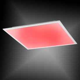 Paul Neuhaus Q-Flag RGBW LED ceiling light with dimmer, square