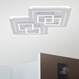 Paul Neuhaus Q-Linea LED ceiling light with dimmer and CCT