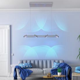 Paul Neuhaus Q- Mia RGBW LED pendant light with dimmer
