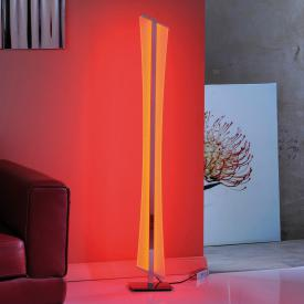 Paul Neuhaus Q-Riller RGBW LED floor lamp with dimmer