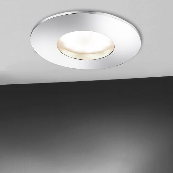 Paul Neuhaus Lumeco LED recessed spot light with dimmer, round