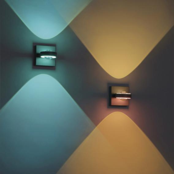 Paul Neuhaus Q-Mia RGBW LED spotlight/wall light with dimmer and CCT