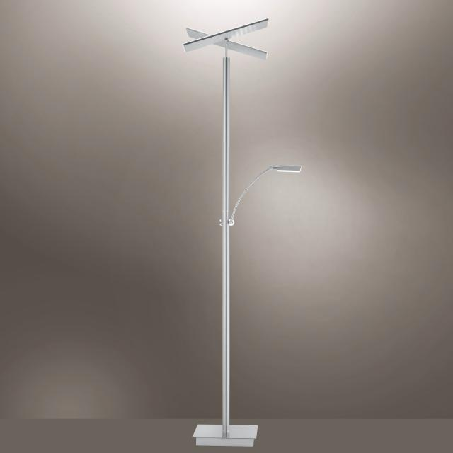 Paul Neuhaus Artur LED floor lamp with dimmer and CCT, square