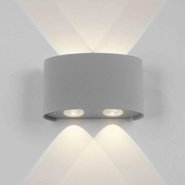 Paul Neuhaus Carlo LED wall light, 4 heads