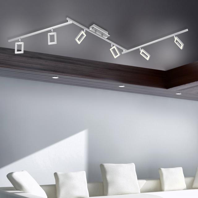 Paul Neuhaus Inigo LED ceiling light/spotlight 6 heads