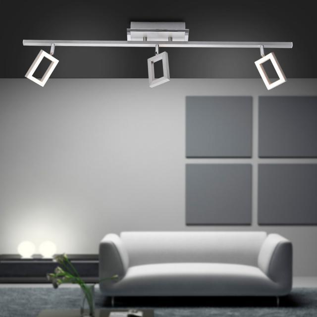 Paul Neuhaus Inigo LED ceiling light/spotlight 3 heads