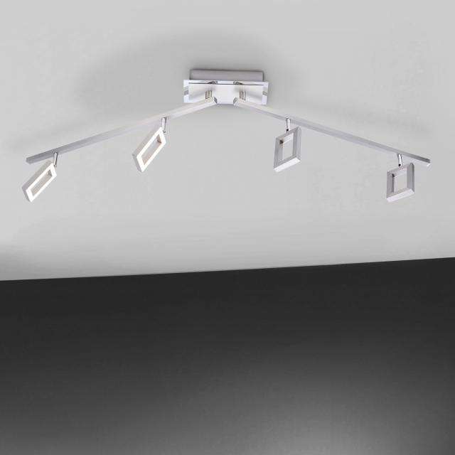 Paul Neuhaus Inigo LED ceiling light/spotlight 4 heads