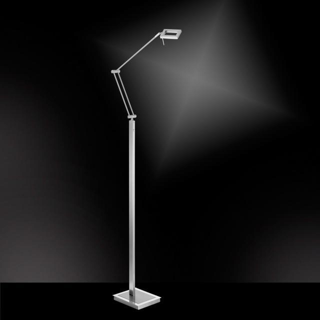 Paul Neuhaus Inigo LED floor lamp with dimmer