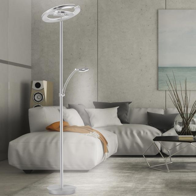 Paul Neuhaus Martin LED floor lamp with dimmer and CCT, double-headed
