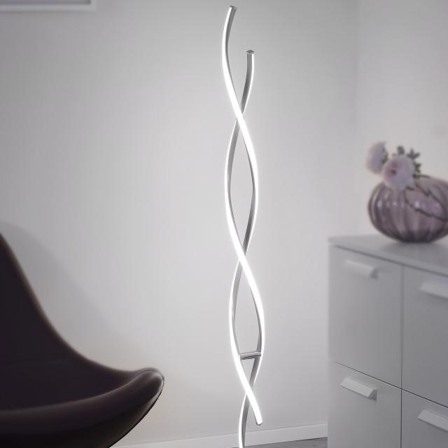 Paul Neuhaus Polina LED floor lamp with dimmer