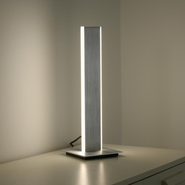 Paul Neuhaus Q-Adriana RGBW LED table lamp with dimmer and CCT