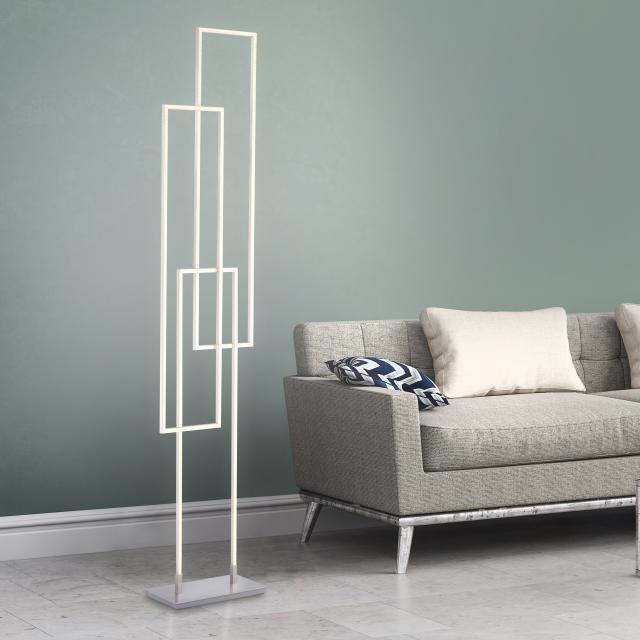 Paul Neuhaus Q- Inigo LED floor lamp with dimmer and CCT