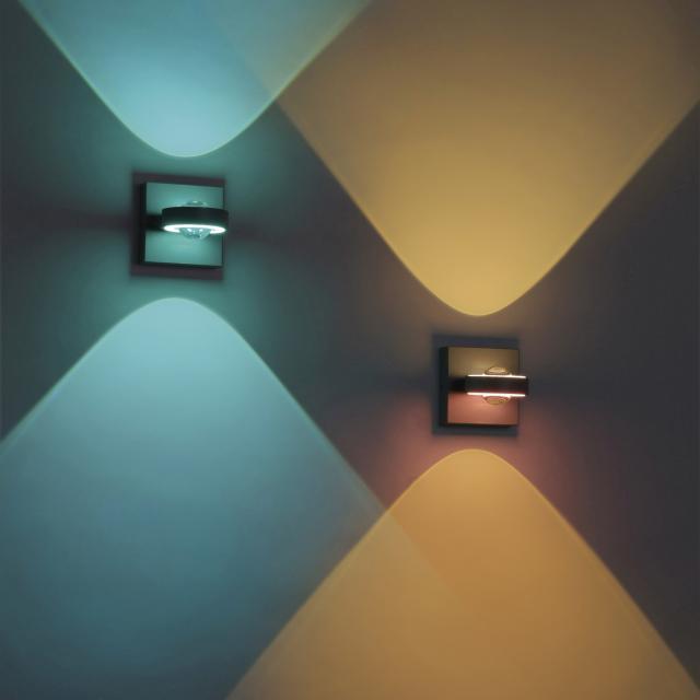 Paul Neuhaus Q-Mia Applique murale/spot LED RVBB avec variateur et CCT