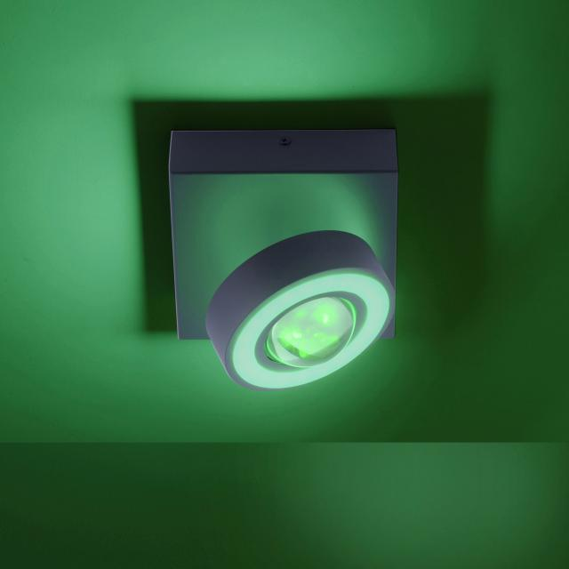 Paul Neuhaus Q-Mia RGBW LED spotlight/ceiling light with dimmer and CCT