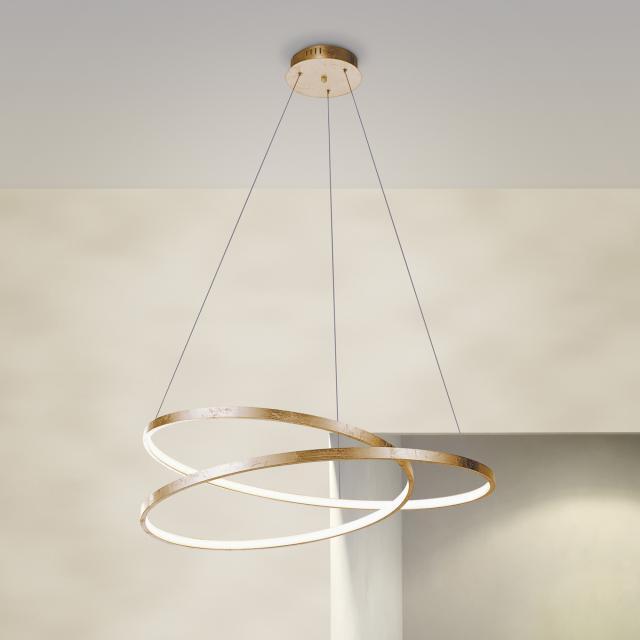 Paul Neuhaus Roman Suspension LED avec variateur
