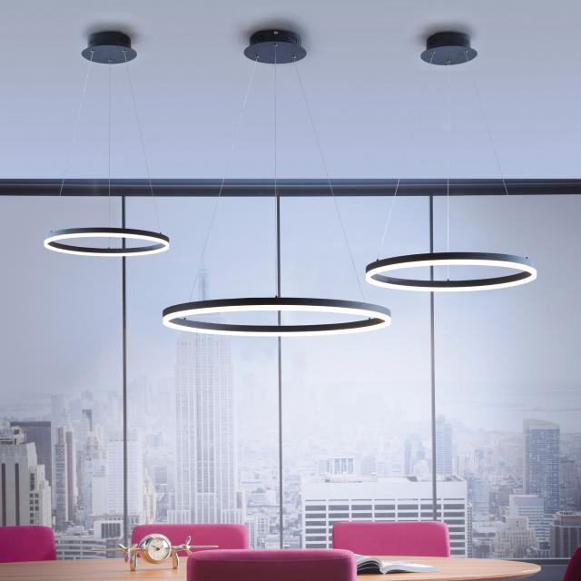 Paul Neuhaus Titus LED pendant light with dimmer