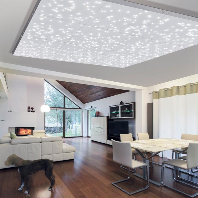 Paul Neuhaus Universe LED ceiling light/expansion module